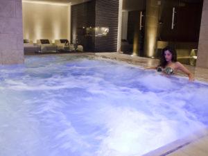 Piscina idromassaggio hotel Cattolica