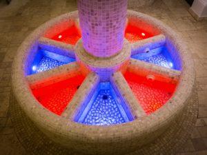 Realizzazione di un kneipp a vasche circolari